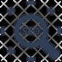 Seo Optimization Search Icon