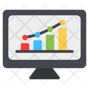 Seo Monitoring Monitor Icon