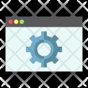 Seo Web Optimization Icon