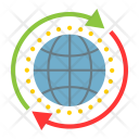 Seo Global Solution Icon