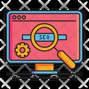 Seo Search Engine Optimization Search Icon