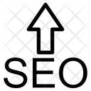 Seo Up Arrow Icon