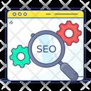Seo Search Engine Optimization Search Optimization Icon