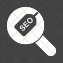 Seo Search Find Icon