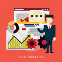 Seo Consulting Development Icon