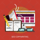 Seo Copywriting Development Icon