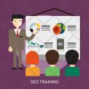 Seo Training Development Icon