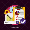 Seo Report Development Icon