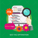 Seo Tag Optimation Icon