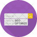 Seo Optimation Optimization Icon