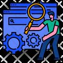 Seo Search Search Engine Icon