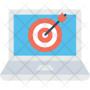 Seo Marketing Target Icon
