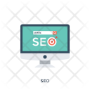 Seo Search Engine Icon