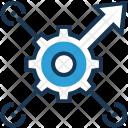 Seo Optimization Cog Icon