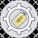 Keywording Seo Marketing Icon