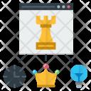 Planning Goal Premium Icon
