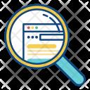 Seo Search Website Icon