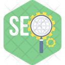 Seo Optimization Web Icon
