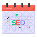 Seo Appointment Seo Calendar Reminder Icon