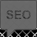 Seo Chat Icon