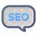 Message Seo Message Seo Chat Icon