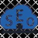 Seo Cloud Cloud Data Icon