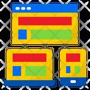 Seo Content Seo Online Icon