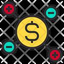 Money Process Finance Icon