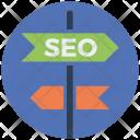 Seo Direction Icon