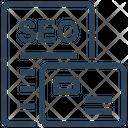 Seo Layout Templates Icon