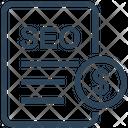 Seo File Income Icon