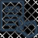 Seo Web File Icon