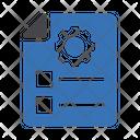 Seo File Marketing Icon