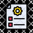 Seo File Management File File Icon