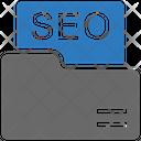 Seo File Folder Icon