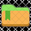 Seo Folder Seo Badge Icon