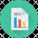 Seo Graph Report Icon