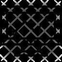 Seo Graph Line Icon