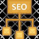 Seo Hierarchy Icon