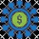 Seo Investment Seo Marketing Icon