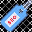Seo Label Seo Tag Optimization Icon