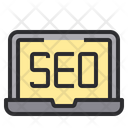 Seo laptop Icon