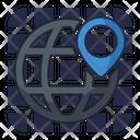 Seo Location Seo Navigation Search Engine Icon