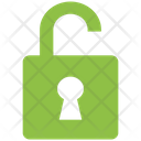 Seo Lock Open Seo Marketing Icon