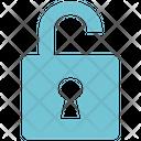 Seo Lock Open Analysis Seo Icon