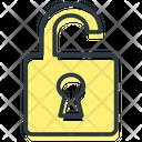Seo Lock Open Statistics Service Icon
