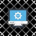 Seo Marketing Monitor Icon