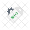 Seo Marketing Tag Icon