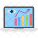 Seo Monitoring Seo Progress Evaluation Seo Report Monitoring Icon