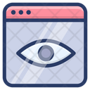 Seo Monitoring Online Analytics Online Monitoring Icon